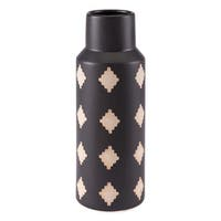 Pampa Bottle Md Black & Beige