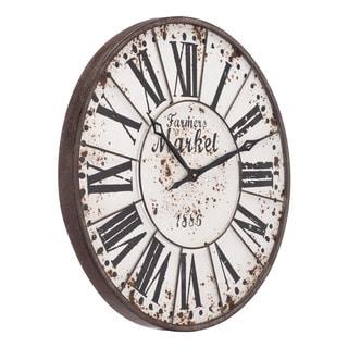 Uttermost Ellsworth 29 Inch Wall Clock Free Shipping