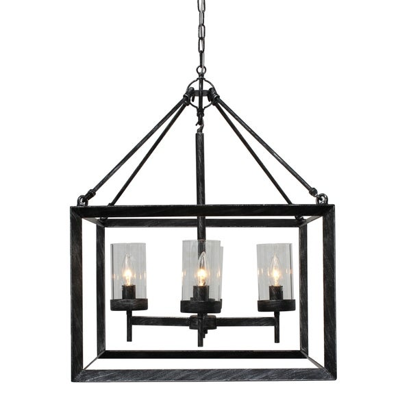 Shop Capri 4-Light Kitchen Foyer Pendant Chandelier