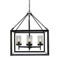 Capri 4-Light Kitchen Foyer Pendant Chandelier