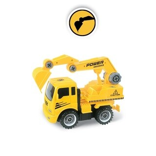 Construct A Truck- Excavator. Take apart and put back together, like 2-toys-in-1