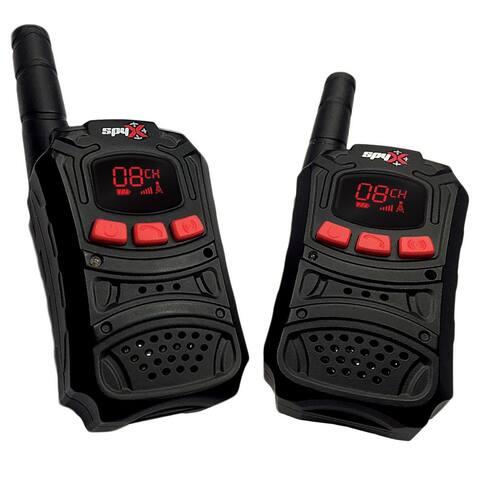 SpyX - Walkie Talkies - Black/red