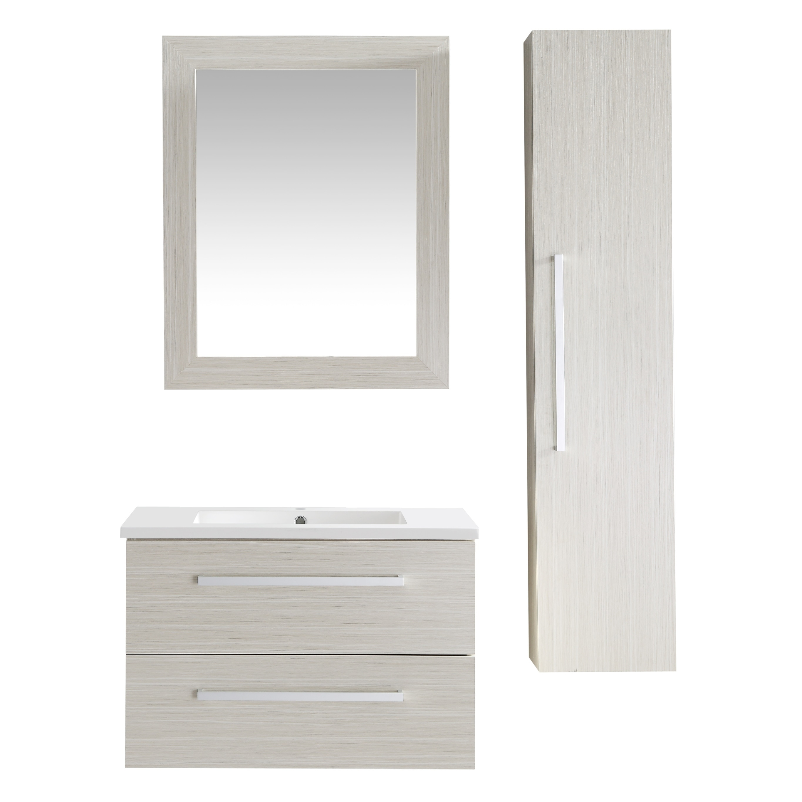 Shop Anzzi Conques 30 In W X 20 In H Bathroom Vanity Set In Rich