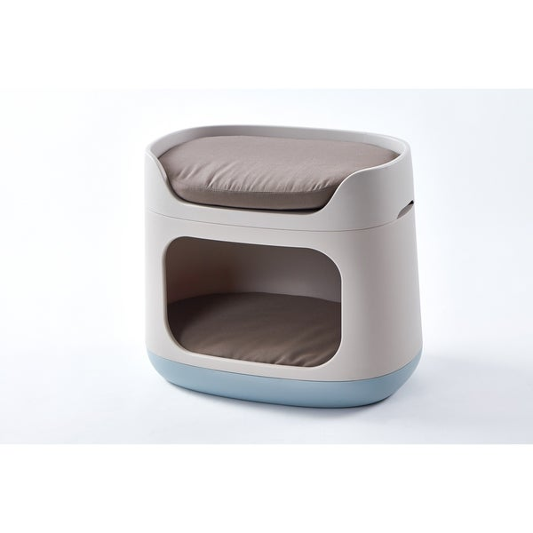 Shop Keter Pet Bunkbed 3 In 1 Bed Carrier Crate For Cats And Small