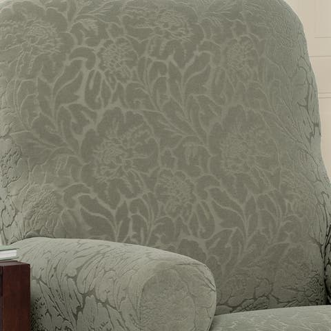 Stretch Sensations Stretch Floral Recliner Slipcover