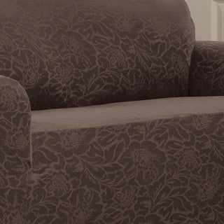 Stretch Sensations Stretch Floral Sofa Slipcover