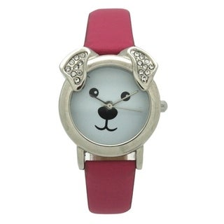 Olivia Pratt Dog With Sparkling Ears Watch