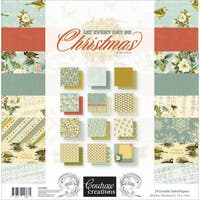 """Couture Creations Double-Sided Paper Pad 12""""X12"""" 24/Pkg"""