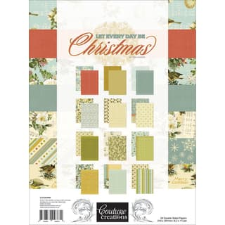 Couture Creations A4 Double-Sided Paper Pad 36/Pkg|https://ak1.ostkcdn.com/images/products/18685998/P24777990.jpg?impolicy=medium