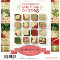 "Ultimate Crafts Double-Sided Paper Pad 6""X6"" 32/Pkg"