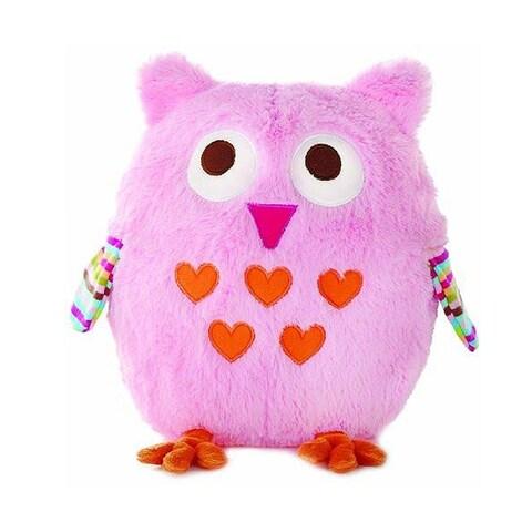 Zutano Owl Plush Toy by Nat & Jules - Pink