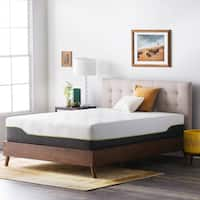 LUCID Comfort Collection 12-inch King-size Premium Support Memory Foam Hybrid Mattress