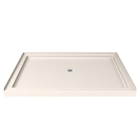 "DreamLine SlimLine 36 in. D x 42 in. W x 2 3/4 in. H Single Threshold Shower Base - 36"" x 42"""