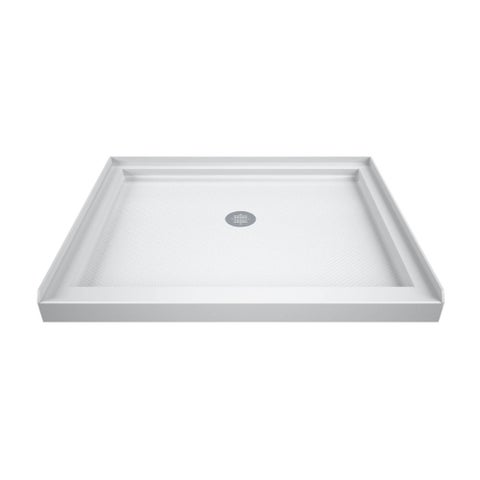DreamLine SlimLine 42 in. D x 42 in. W x 2 3/4 in. H Single Threshold Shower Base