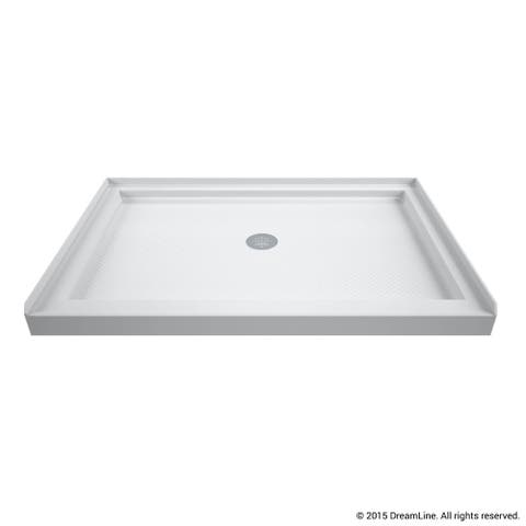 "DreamLine SlimLine 32 in. D x 42 in. W x 2 3/4 in. H Single Threshold Shower Base - 32"" x 42"""