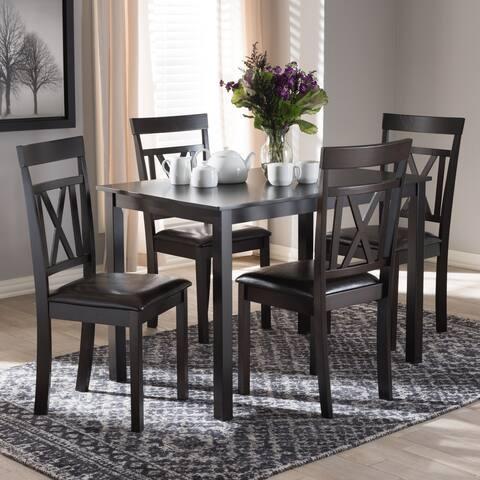 Copper Grove Echium Contemporary 5-Piece Dining Set