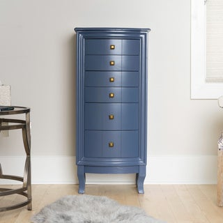 Hives & Honey Natalie Blue Jewelry Armoire Jewelry Stand
