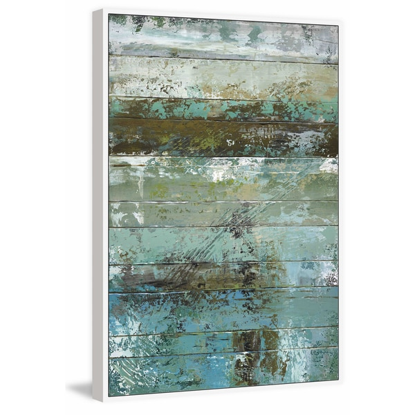 Beachwood I\' Floater Framed Painting Print on Canvas - Free Shipping ...