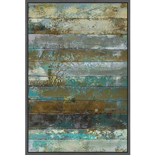 Marmont Hill - Handmade Beachwood II Floater Framed Print on Canvas