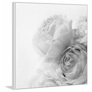 Marmont Hill - Handmade Roses II Floater Framed Print on Canvas