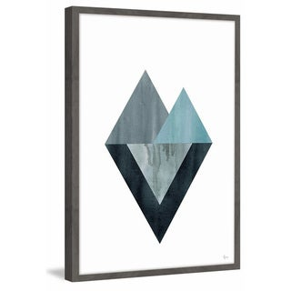 Link to Marmont Hill - Handmade Triangle Convergence Framed Print Similar Items in Art Prints