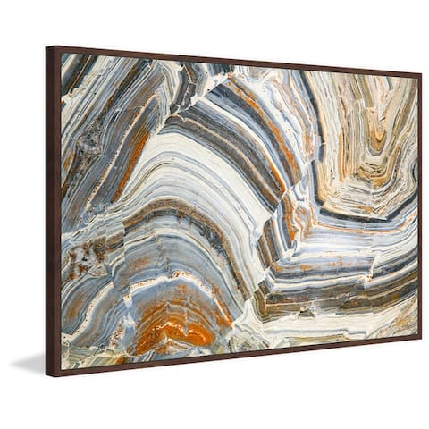 Marmont Hill - Handmade Visual Conception of Creation Floater Framed Print on Canvas