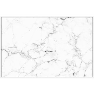 Marmont Hill - Handmade Cracked Marble Floater Framed Print on Canvas