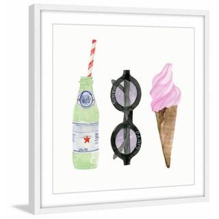'Summer Fun' Framed Painting Print
