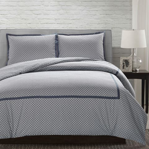 Modern Threads Andrew 3-Piece 100-Percent Cotton Duvet Set