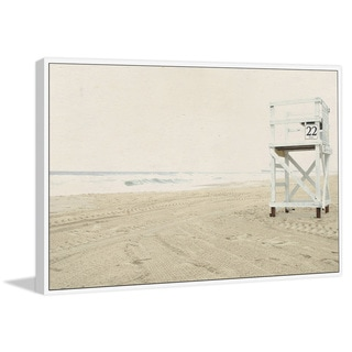 Marmont Hill - Handmade Number 22 Floater Framed Print on Canvas