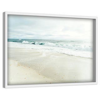 'Wind and Sea' Painting Print on Canvas with Shadow Box