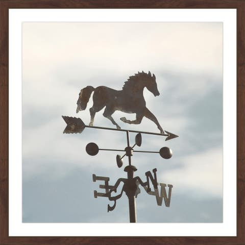 Marmont Hill - Handmade The Weathervane Framed Print
