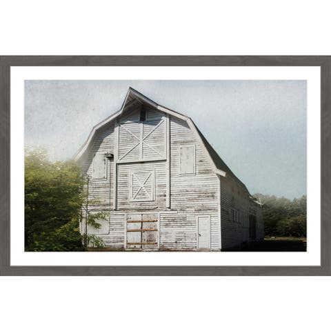 Marmont Hill - Handmade Iconic White Framed Print