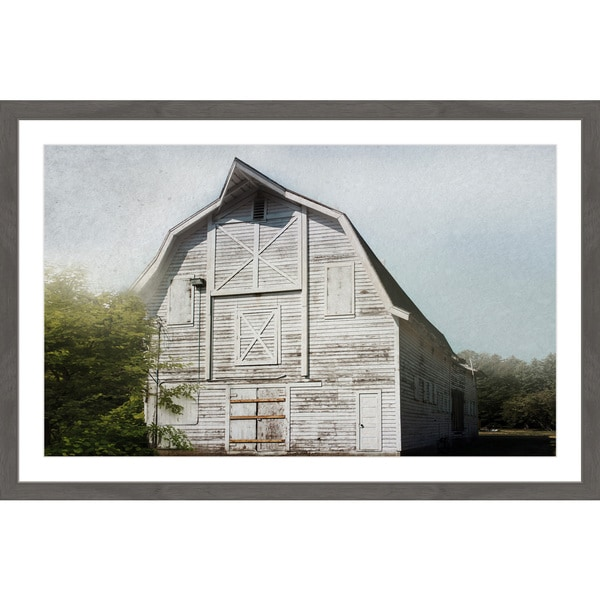 Marmont Hill - Handmade Iconic White Framed Print. Opens flyout.