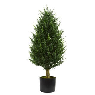 Link to 3' Cypress Tower Artificial Tree UV Resistant (Indoor/Outdoor) Similar Items in Decorative Accessories