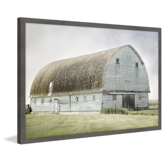 Marmont Hill - Handmade The Blue Barn Framed Print