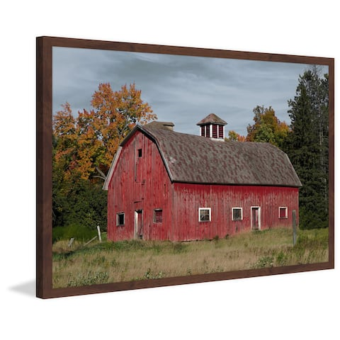 Marmont Hill - Handmade Iconic Red Framed Print