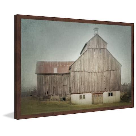 Marmont Hill - Handmade Ancienne Grange Framed Print