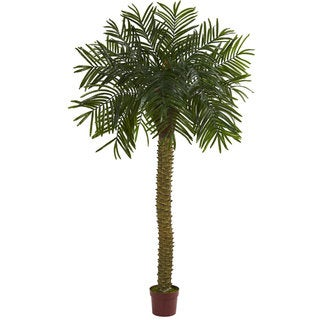 Nearly Natural 7' Prickly Palm UV-resistant Indoor/Outdoor Artificial Tree