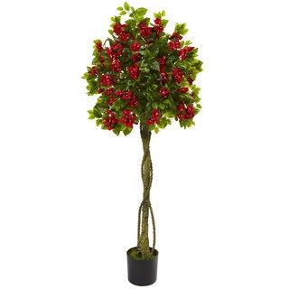 Link to 5' Bougainvillea Artificial Topiary Tree Similar Items in Decorative Accessories