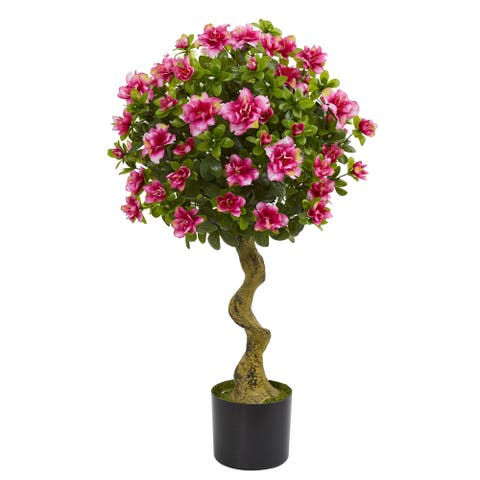 3' Azalea Artificial Topiary Tree