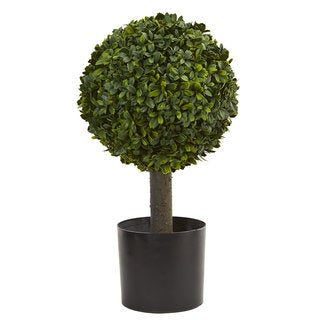 """21"""" Boxwood Ball Topiary Artificial Tree"""