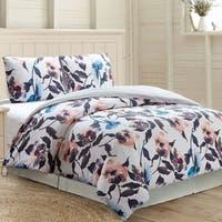 Amrapur Overseas Rosario 3-Piece 100-Percent Cotton Printed Duvet Set