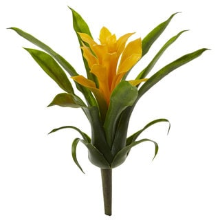 "10"" Bromeliad Artificial Flower (Set of 6)"