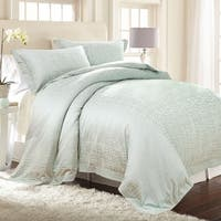 Amrapur Overseas Vera 3-Piece Cotton Rich Jacquard Duvet Set