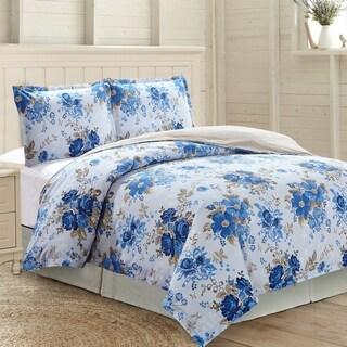 Amrapur Overseas Aubrey 3-Piece 100-Percent Cotton Printed Duvet Set