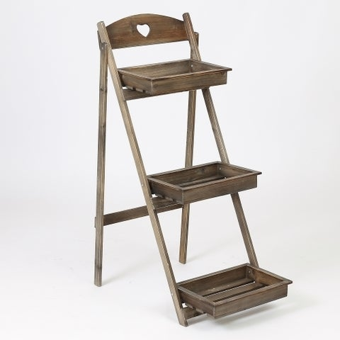 3 Tier Single Ladder Plant Stand