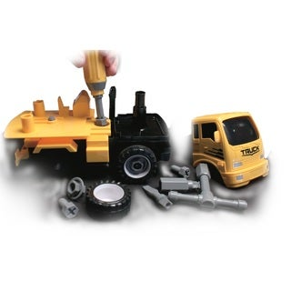 Construct A Truck - Mixer. Take apart and put back together, like 2-toys-in-1