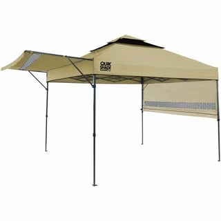 Quik Shade Summit X Instant Canopy with Adjustable Dual Half Awnings  sc 1 st  Overstock.com & Coleman Instant Canopy Sunwall - Free Shipping Today - Overstock ...