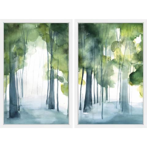 Marmont Hill - Handmade Through the Haze Diptych